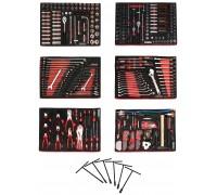 Набор инструмента в ложементах Besita 364 предмета