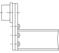 Глубина каретки по заказу для подвесных домкратов Blitz 14-33 т