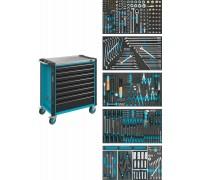 Инструментальная тележка с набором инструментов 321 предмет Hazet 179NXL-8/321