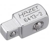 """Сквозной квадрат Hazet 6413-2, 1/4"""" - 3/8"""""""