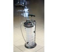Установка для откачки масла ручная и пневматическая Horex HZ 04.113, 10 л
