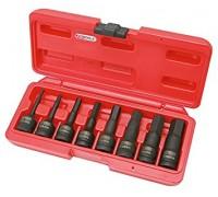 Набор ударных шестигранников (5-19 мм) , посадка 1/2 дюйма KS Tools 911.0902