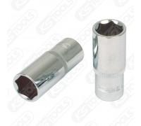 """Головка 6-и гранная 1/2"""" 21 мм, удлиненная KS Tools 918.1258"""