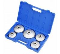 МАСТАК Набор съёмников масляных фильтров, 5 предметов