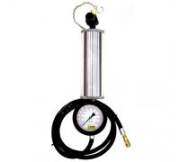 МАСТАК Манометр с колбой для очистки топливных систем, 1 л