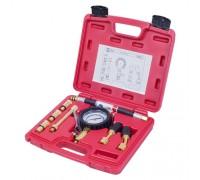 МАСТАК Компрессометр бензиновый, 0-21 атм, кейс, 8 предметов