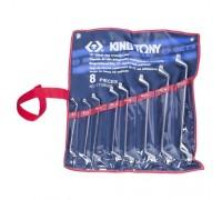KING TONY Набор накидных ключей, 6-23 мм, 8 предметов