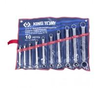 KING TONY Набор накидных ключей, 6-32 мм, 10 предметов