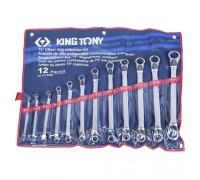 KING TONY Набор накидных ключей, 6-32 мм, 12 предметов