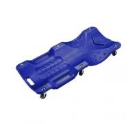 МАСТАК Лежак подкатной 6-ти колесный, пластиковый