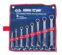 KING TONY Набор накидных ключей, 6-22 мм 8 предметов