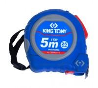 KING TONY Рулетка измерительная 5 м, магнитный крюк