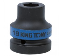 "KING TONY Головка торцевая ударная шестигранная 1"", 19 мм"