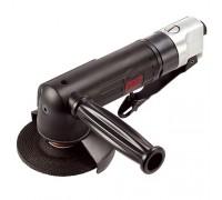 MIGHTY SEVEN Пневматическая угловая шлифовальная машина (УШМ) 125 мм, 11000 об/мин, с рычажным выклю