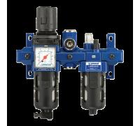 """Блок подготовки воздуха Prevost TB SME2, 3/8"""", 1250 л/мин, с выводом сухого воздуха"""