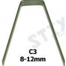 Лезвия для регрувера С3 (8-12мм), 20шт