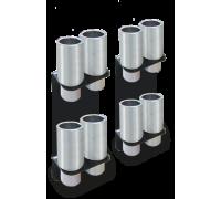 Комплект адаптеров увеличения высоты подхвата для 2-х стоечных подъемников Rotary