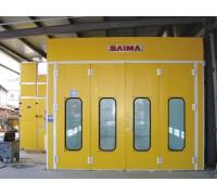 Камера окрасочно-сушильная для грузовиков и автобусов SAIMA GRANDI MEZZI 9600
