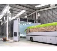 Камера окрасочно-сушильная для грузовиков и автобусов SAIMA GRANDI MEZZI 21600