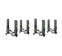 Мобильные электрогидравлические колонны, беспроводные, 8x5,5т  SPACE SM305H.8WS