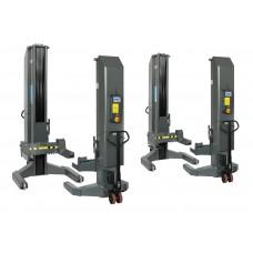 Мобильные электрогидравлические колонны, беспроводные, 4x7,5т  SPACE SM307H.4WS + VAR300/F